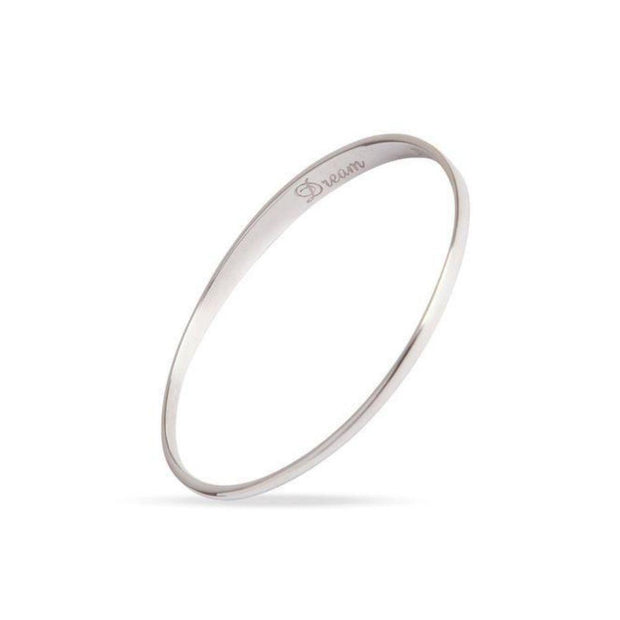 Maureen Lynch Sparkle and Dream Silver Bangle DL4