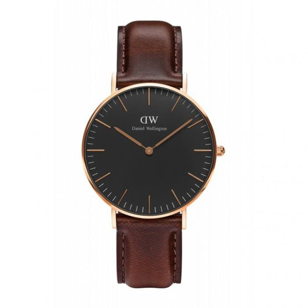 Daniel Wellington Classic Black Bristol Watch DW00100137