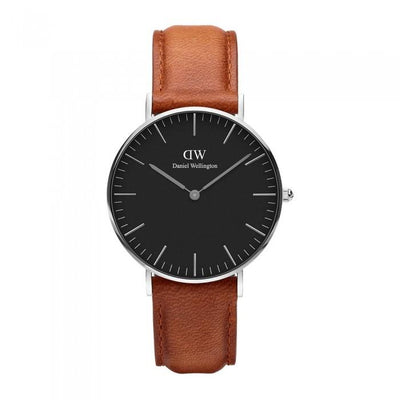 Daniel Wellington Classic Black Durham Steel Watch DW00100144