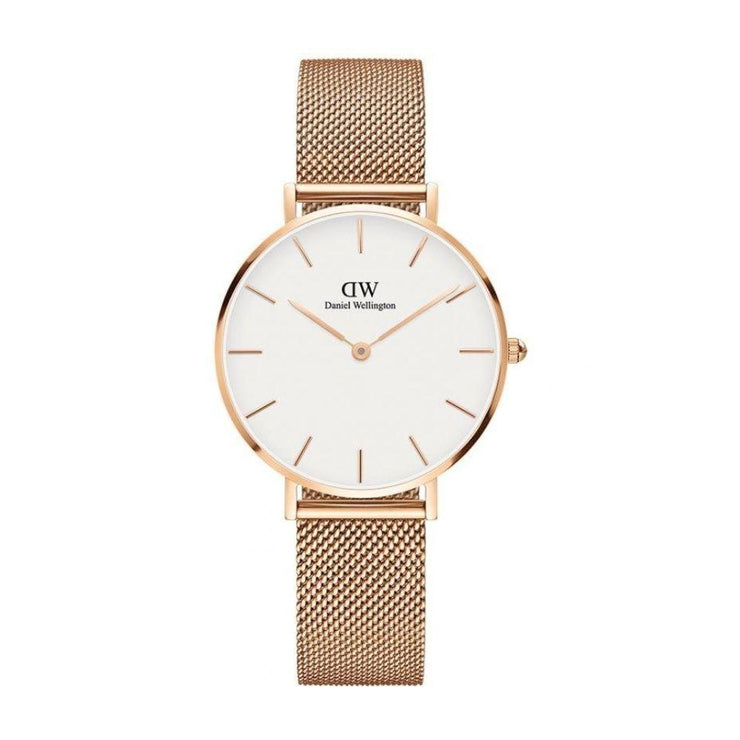 Daniel Wellington Petite Melrose Rose Gold Watch DW00100163