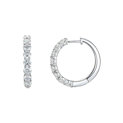 18ct White Gold 2.27ct Diamond Earrings
