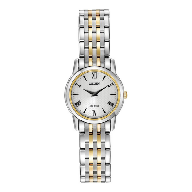 Citizen Eco-Drive Stilleto Two-Tone Ladies Watch EG3048.58A