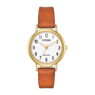 Citizen Eco-Drive Chandler Tan Ladies Watch EM0572.05A