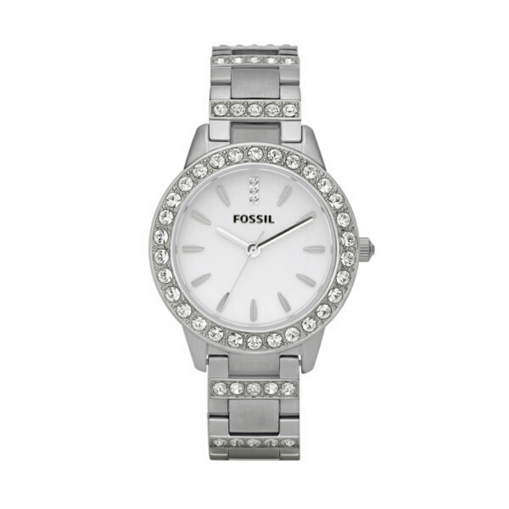 Fossil Jesse Steel Crystal Ladies Watch ES2362