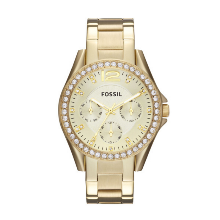 Fossil Riley Gold Watch ES3203