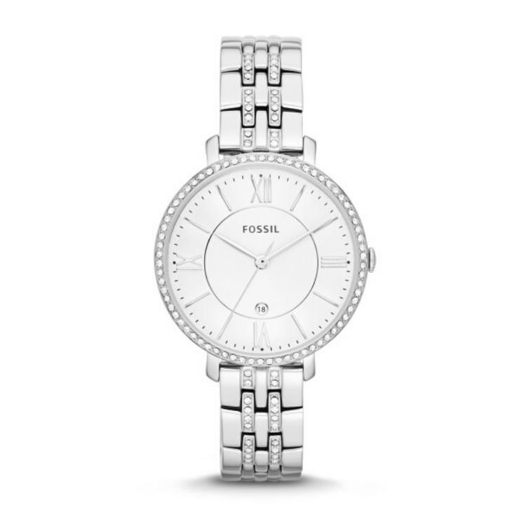 Fossil Jacqueline Steel Crystal Watch ES3545