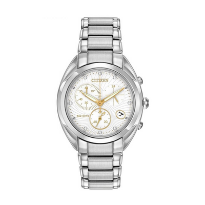 Citizen Eco-Drive Chronograph Diamond Ladies Watch FB1390.53A