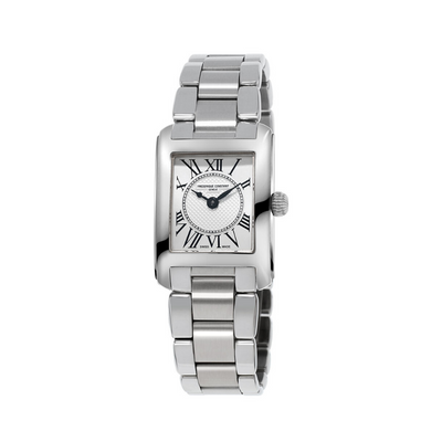 Frederique Constant Classics Carreé Steel Ladies Watch FC-200MC16B