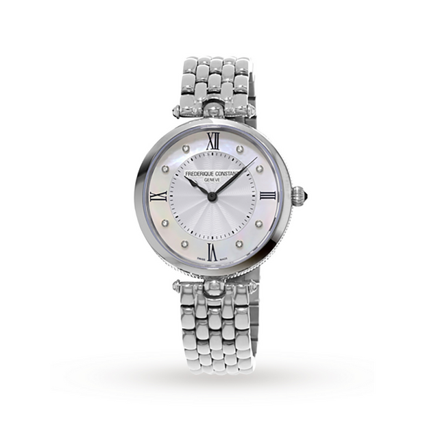 Frederique Constant Classics Art Deco Steel Watch FC-200MPWD2AR6B