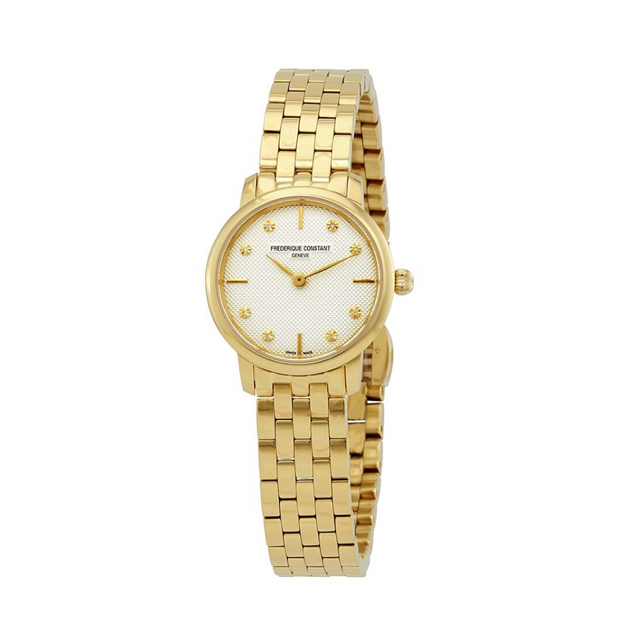 Frederique Constant Slimline Gold Ladies Watch FC-200STDS5B