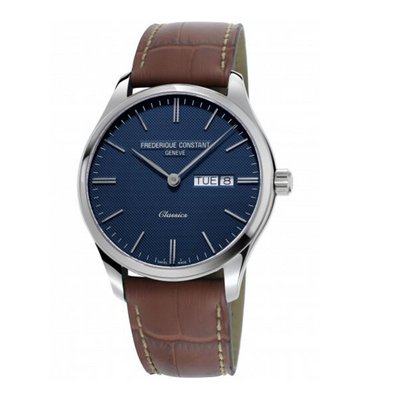 Frederique Constant Classics Blue Day Date Mens Watch FC-225NT5B6