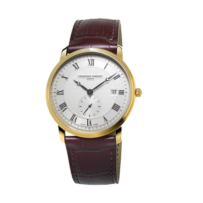 Frederique Constant Slimline Second Dial Mens Watch FC-245M5S5