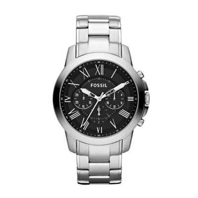Fossil Grant Steel Chronograph Mens Watch FS4736IE