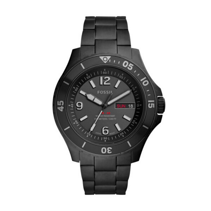 Fossil FB-02 All Black Mens Watch FS5688