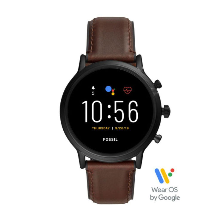 Fossil Carlyle Brown Leather Smartwatch FTW4026