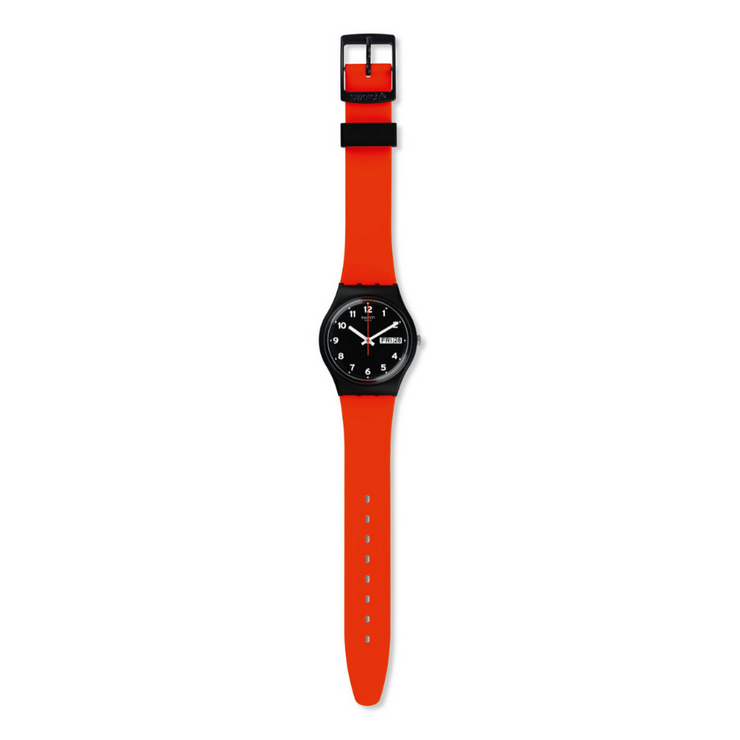 Swatch Red Grin Watch GB754