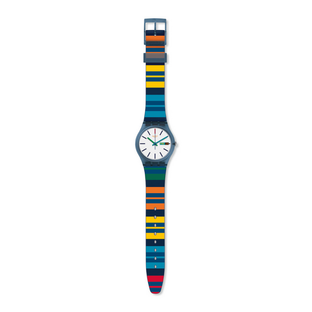 Swatch Color Crossing Watch GN724