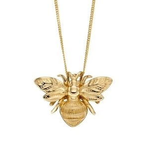 9ct Gold Bee Necklace