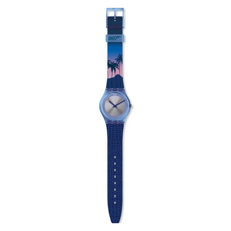 Swatch Licence To Kill 1989 Watch GZ328