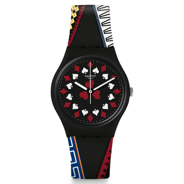 Swatch Casino Royale 2006 Watch GZ340