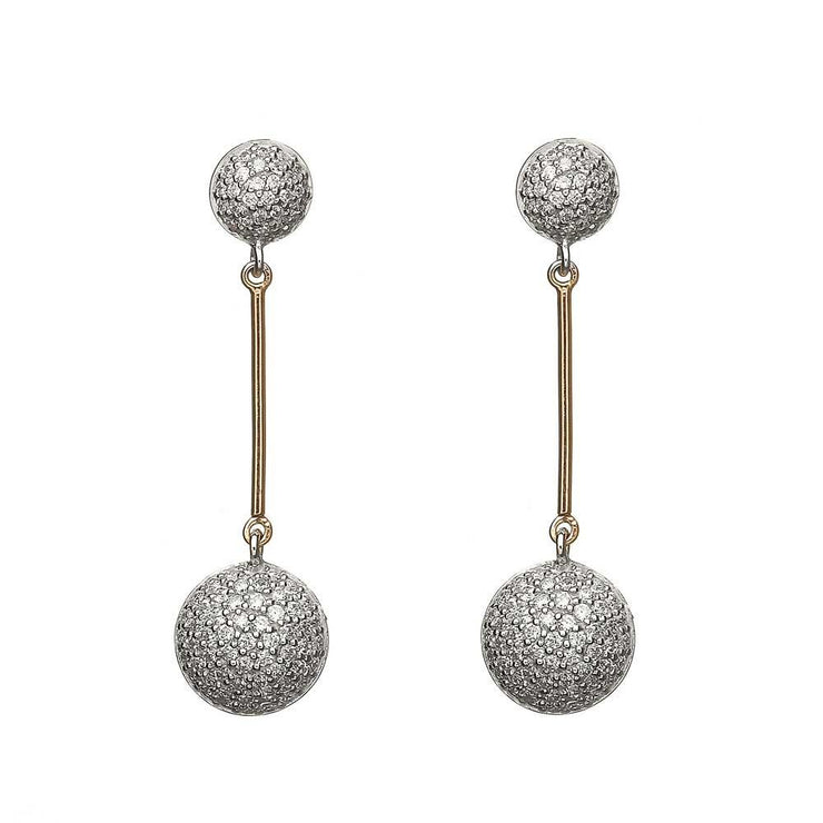 House of Lor Circle Drop Earrings H30004