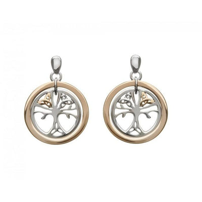 House of Lor Trinity Tree of Life Drop Earrings H30017