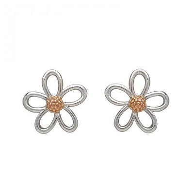 House of Lor Open Petal Stud Earring H30070