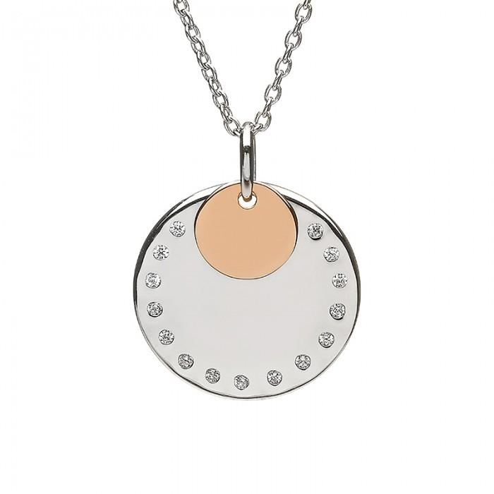 House of Lor Disc Necklace H40019