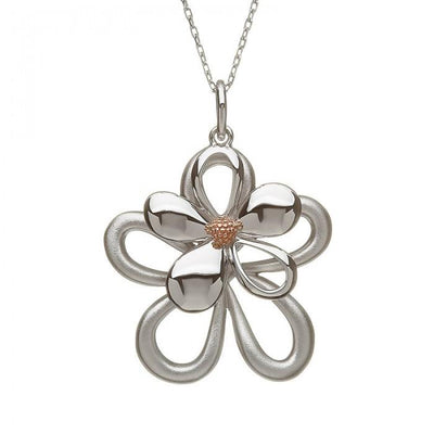 House of Lor Double Open Petal Necklace H40062