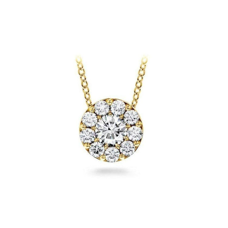 Hearts on Fire Fulfillment 18ct Yellow Gold Necklace