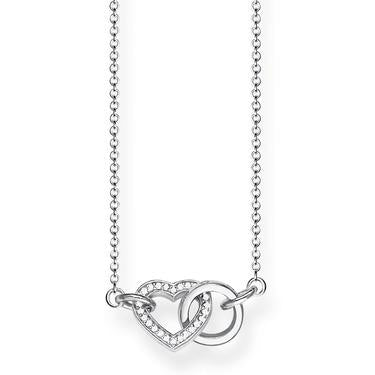 Thomas Sabo Together Forever Heart Necklace KE1643-051-14