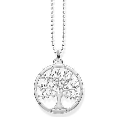 Thomas Sabo Tree of Love silver necklace KE1660-001-21