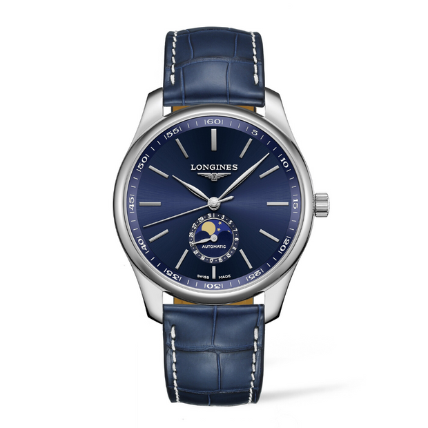 The Longines Master Collection Moonphase Blue Watch L29194920