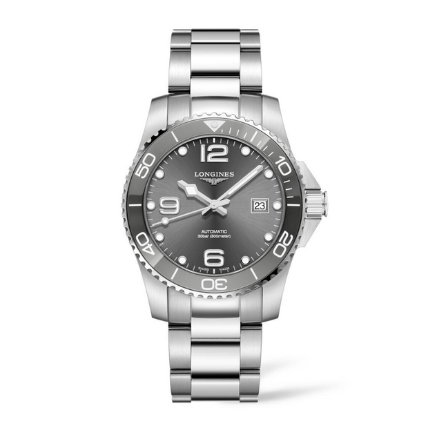 Longines HydroConquest Ceramic Bezel Watch L37814766