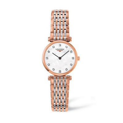 Longines Le Grande Classique Rose Gold PVD Ladies Watch L42091977