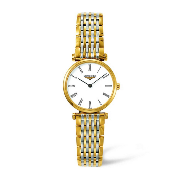 Longines Le Grande Classique Gold PVD and Steel Ladies Watch