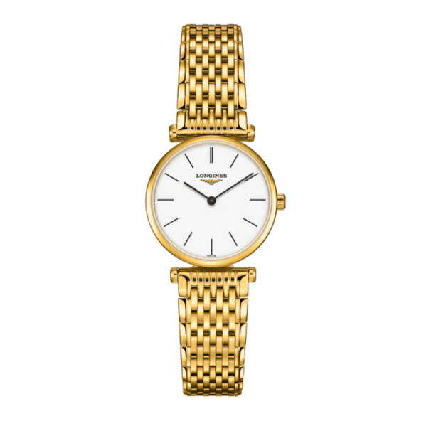 Longines Le Grande Classique Gold PVD 24mm Ladies Watch