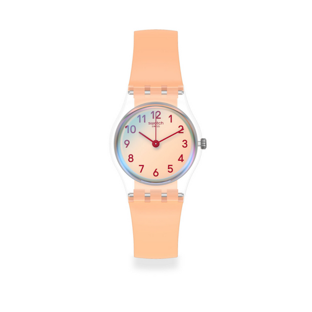 Swatch Casual Pink Watch LK395