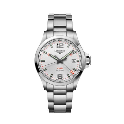Longines Conquet VHP Stainless Steel Mens Watch L37284766