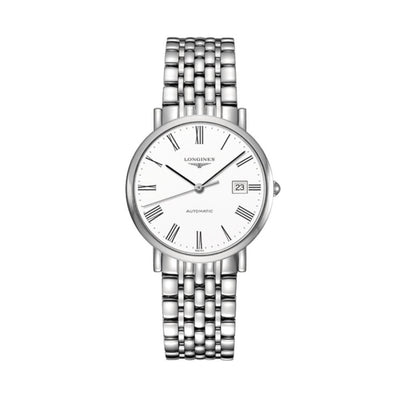Longines Elegant Collection Steel 37mm Watch L48104116