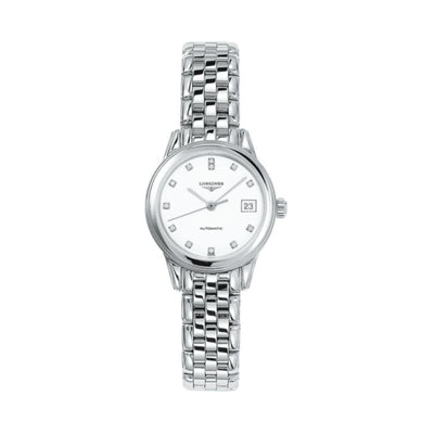 Logines Flagship Steel Ladies Watch L42744276