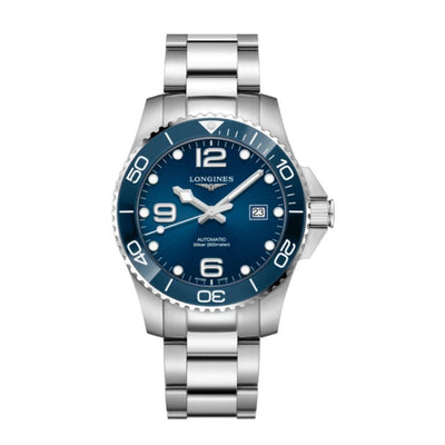 Longines Hydroconquest Blue Ceramic 43mm Watch L37824966