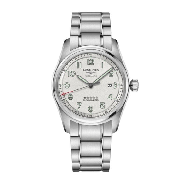 Longines Spirit Steel White Dial Chronometer Watch L38114736
