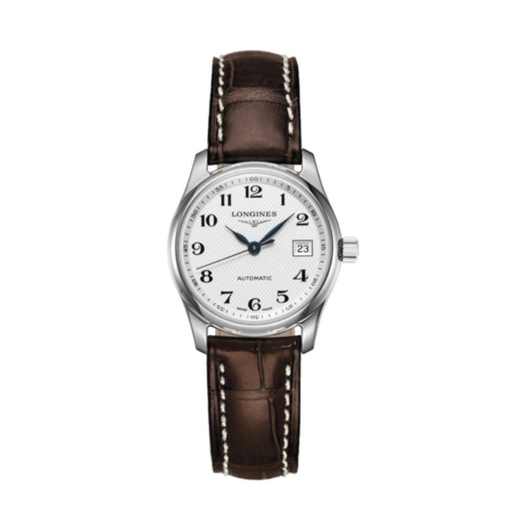 Longines Master Collection Brown Leather Watch L22574783