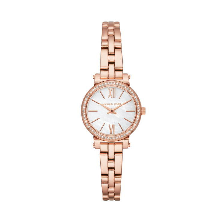 Michael Kors Petite Sofie Rose Gold Watch MK3834