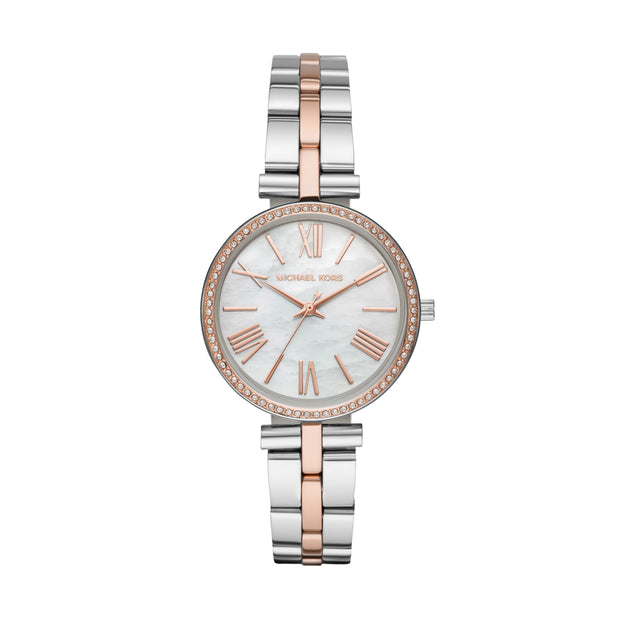 Michael Kors Maci Steel and Rose Watch MK3969