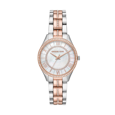 Michael Kors Lauryn Two-Tone Watch MK3979