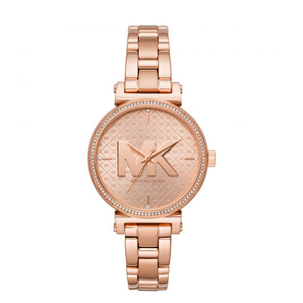 Michael Kors Sofie Rose Gold Watch MK4335