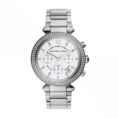 Michael Kors Parker Steel Chrono Watch MK5353