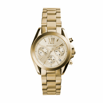 Michael Kors Bradshaw Gold Watch MK5798